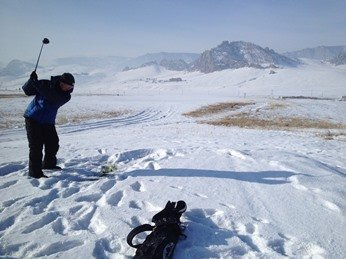 golf ball distance and cold weather